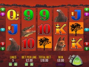 Big Red pokie machine from Aristocrat