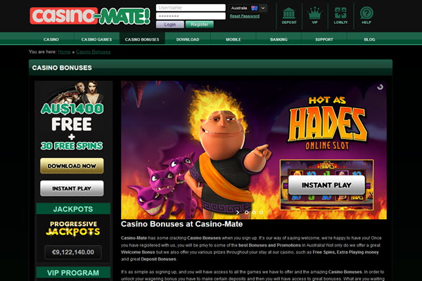 Online pokies for real money at casino-mate