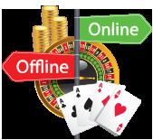 Play offline or online casinos in Australia
