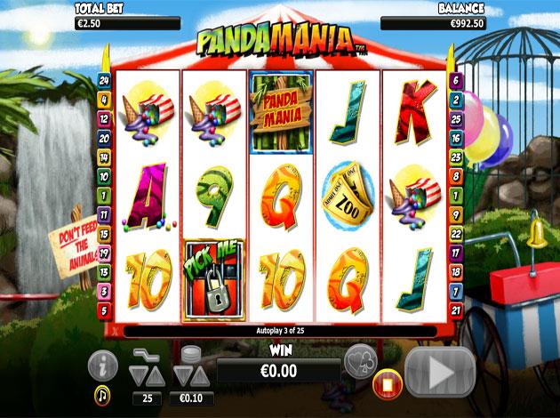Pandamania Slot