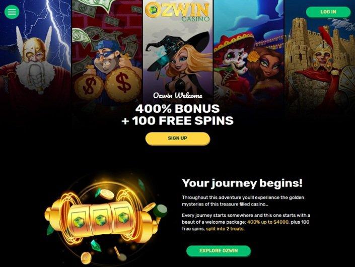 Ozwin casino bonus promotion - Free spins, no deposit bonus codes
